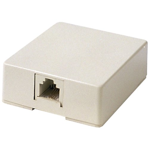 RCA TP265 Phone Modular Wall Jack (Ivory) (Best Phone For 50 Year Old)