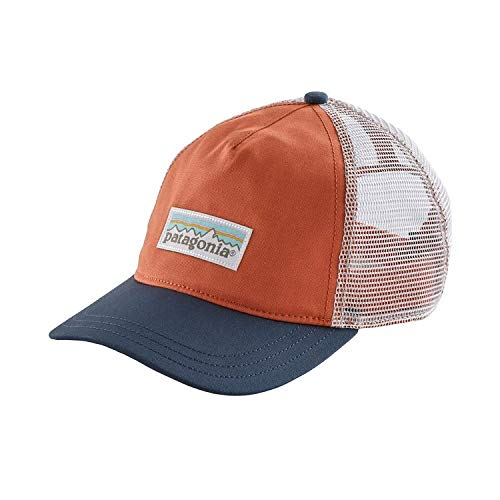 Patagonia Women's Pastel P-6 Label Layback Trucker Hat (Quartz Coral, OneSize)