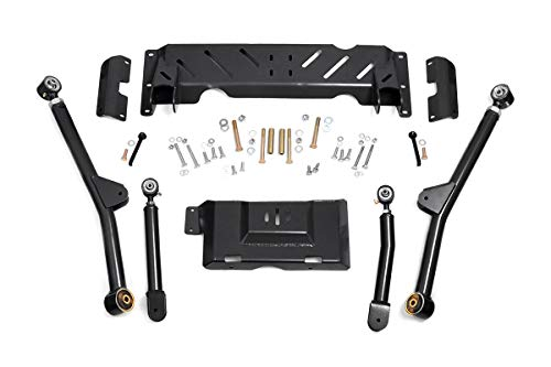 Flex 4 Lift Kit - Rough Country - 68900U - X-Flex Long Arm Upgrade Kit for 4-6-inch Lifts for Jeep: 84-01 Cherokee XJ 4WD
