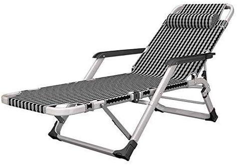 LYDB Tumbonas de Gravedad Cero Sillas reclinables Plegables Sillas reclinables Tumbonas Jardín Playa Exterior Ajustable Interior: Amazon.es: Deportes y aire libre