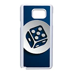 New Style Dice Image Phone Case For Samsung Galaxy Note 5