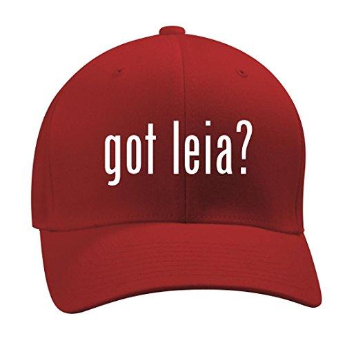 got leia? - A Nice Men's Adult Baseball Hat Cap, Red, Large/X-Large (Slave Leia Bikini)