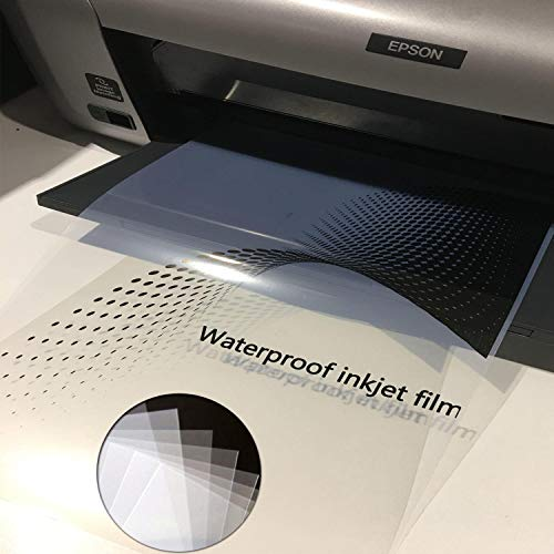 terproof Instant Dry Inkjet Silk Screen Printing Transparency Film ()