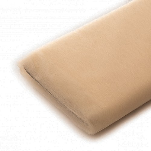 Tulle Fabric - 40 Yards Per Bolt (Taupe Special)