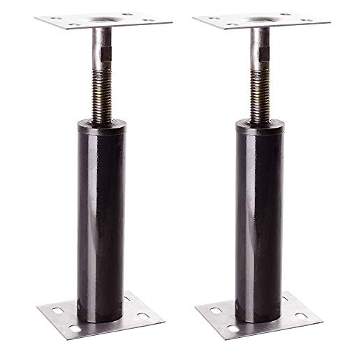 Adjustable Floor Jack Post 15 Gauge - Size Range 1'-1'3