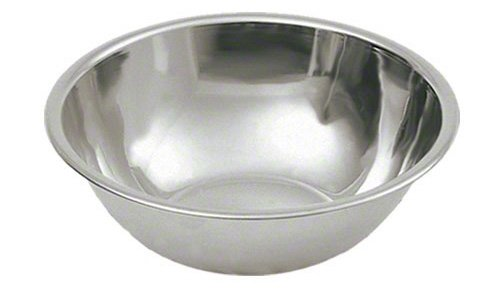 Mixing Bowl Restaurant - Update International (MB-400) 4 qt Stainless Steel Mixing Bowl