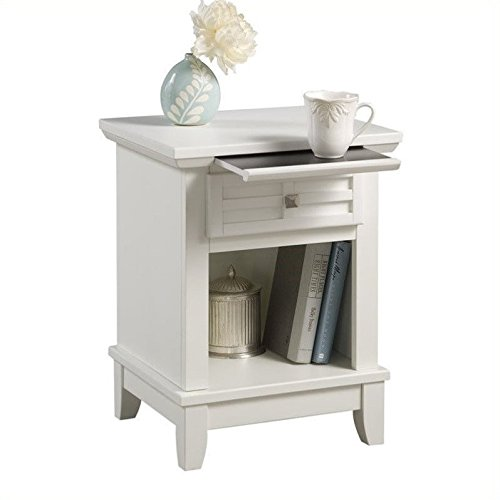 Home Styles 5182-42 Arts and Crafts Night Stand, White Finish