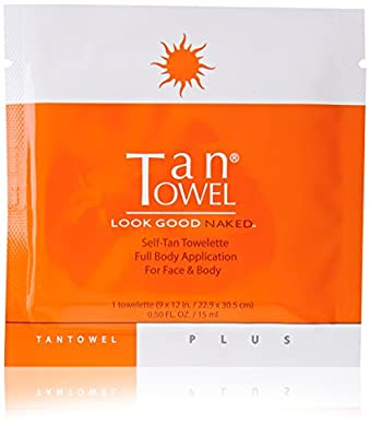 Tan Towel Self Tan Towelette Plus 5 Count
