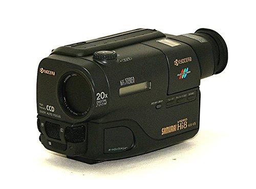 KYOCERA 京セラ KX-V5 SAMURAI Hi8 ビデオカメラレコーダー(Hi8/8mmビデオカメラ/ハンディカム) Hi8方式 液晶モニター搭載 リモコン欠品