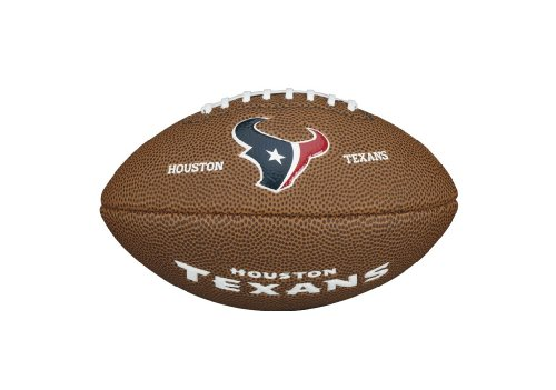 Wilson WTF1533IDHU NFL Team Logo Mini Size Football - Houston Texans
