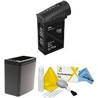 DJI Inspire 1 Black Edition Battery Bundle. Includes TB48 Battery (Black) + Battery Heater (Black) + eDigitalUSA Cleaning Kit