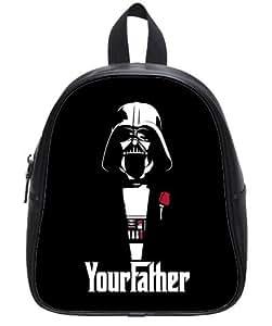 Funny Your Father Star Wars Darth Vader Kid's School Bag & Backpack for Kids