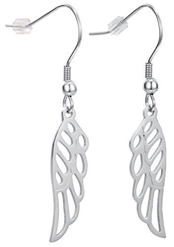 Angel Earrings Fishhook Backings Stainless