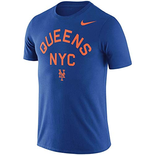 League Tees New York Queens Local Phrase T-Shirt – Royal (Large)