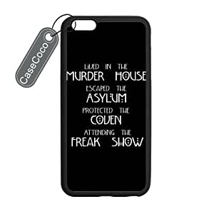 Casebynow American Horror Story AHS Case Cover Skin for iphone 6 4.7