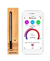 MEATER+165ft Long Range Smart Wireless Meat Thermometer for The Oven Grill Kitchen BBQ Smoker Rotisserie with Bluetooth and WiFi Digital Connectivity from fabulous Apption Labs
