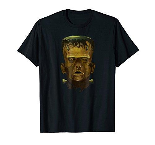 Frankenstein's monster Mask Halloween costume T-Shirt Tee -