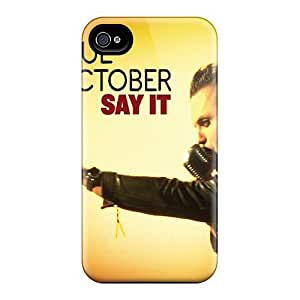 New Wade-cases Super Strong Blue October Case Cover For Iphone 4/4s