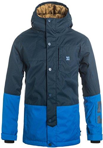 DC Big Boys' Defy Youth Snow Jacket, Insignia Blue, 14/XL