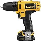 12v dewalt drill - DEWALT DCD710S2 12-Volt Max 3/8-Inch Drill Driver Kit