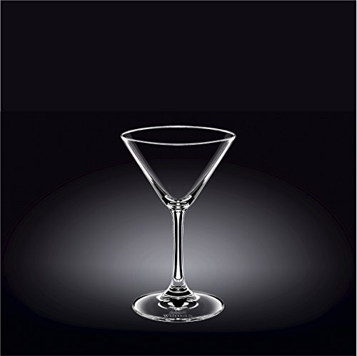 Wilmax 888029 160 ml Martini Glass Set of 644; Pack of 8 by Wilmax