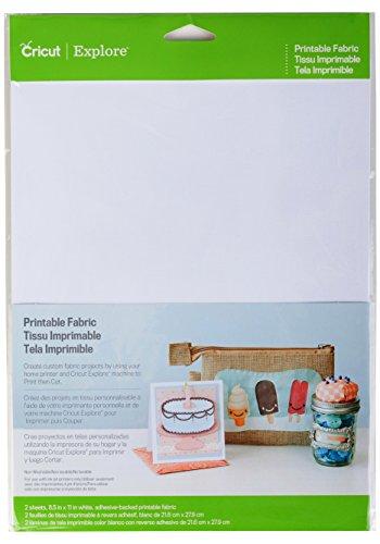 Cricut 2002740 Printable Fabric by Cricut