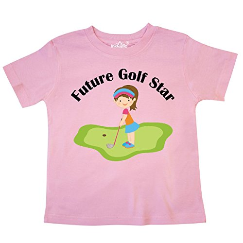inktastic - Future Golf Star Girls Golfing Toddler T-Shirt 2T Pink 10c24