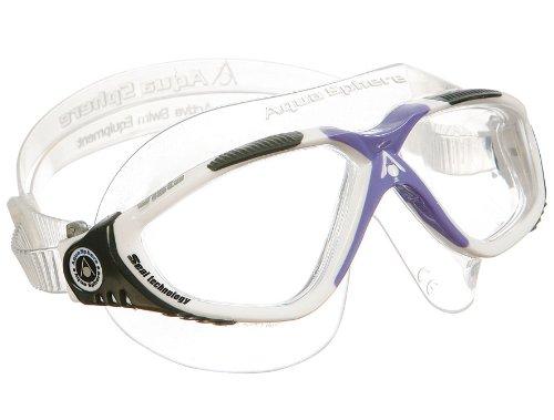 Aqua Sphere Vista Lady Swim Mask, - Man Iron Goggles
