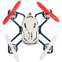 Goodfans New Hubsan NANO Q4 H111 4-CH 2.4GHz 6-axis Gyro Super Mini RC Quadcopter Drone Kids Toys Gifts with LED Light(White)