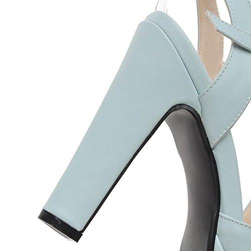 ASL05290 Bleu BalaMasa Femme Bout Ouvert wTgA6qROn