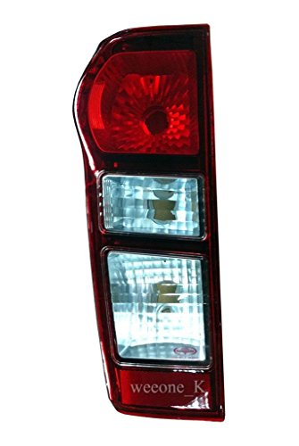 K1AutoParts 1 Left Side Rear Taillights Tail Light Lamps (Normal Type) For Isuzu D-max Dmax 2012 2013 2014
