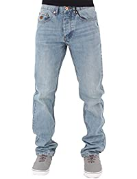 Mens Boys Double R Star Relaxed Fit Hip Hop Jeans SWB