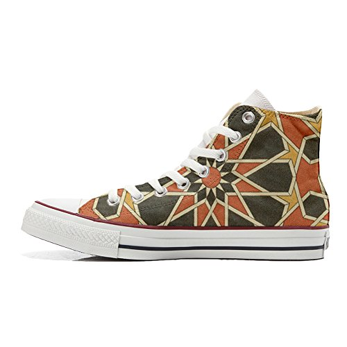 Unisex Converse mys Produit Customized Chaussures Artisanal Mosaic Coutume qwqUZf6Wg