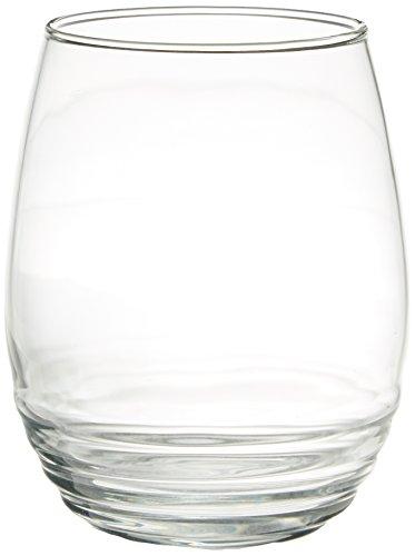 (Luminarc Eminence Stemless Wine (Set of 12), 17 oz, Clear)
