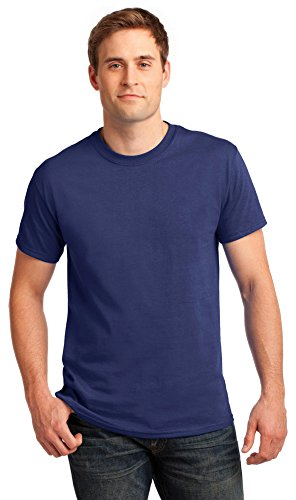 Gildan Mens Ultra Cotton 100% Cotton T-Shirt, 4XL, Metro Blue