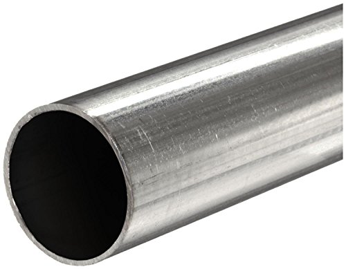 Online Metal Supply 304 Stainless Steel, Round Tube, OD: 0.375 (3/8 inch), Wall: 0.035 inch, Length: 48 inches, (Hollow Steel Tube)