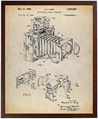 Turnip Designs Pocket Folding Camera Patent Poster Art Print Camera Decor Camera Photography Wall Art Camera Art TNP111