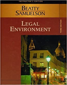Amazon. Com: legal environment of business, a managerial approach.