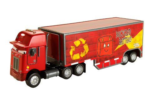 Amazon Com Cars Jerry Recycled Batteries Hauler Toys Games
