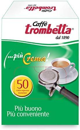 Caffè Trombetta, Caffè in Cialda ESE, Più Crema – 50 Cialde