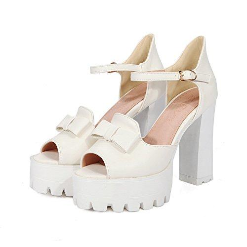 White BalaMasa Ballerine EU 35 Bianco Donna qw8Bx1wt