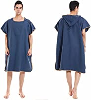 Beach wet suit dressing bathrobe cloak head cover, can be used for beach towel absorbent sunscreen cover-up me