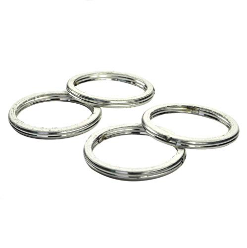 Nathan-Ng - For Honda CBR600F4 CBR600 CBR 600 F4 F4i 1999-2006 Exhaust Pipe Header Gasket Ring 4PCs / Set (Cbr600f4 Honda Engine)
