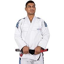 Tatami Fightwear Estilo 6.0 Premium BJJ Gi - White/Cobalt Blue