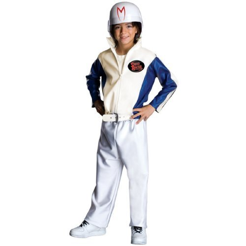 Speed Racer Deluxe Child Costume, As Shown, Child Small -
