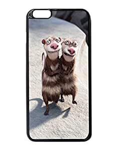"Buck, Crash and Eddie - Ice Age 3 - Custom Image Case iphone 6 -5.5 inches case , Diy Durable Hard Case Cover for iPhone 6 Plus (5.5"") , High Quality Plastic Case By Argelis-Sky, Black Case New"