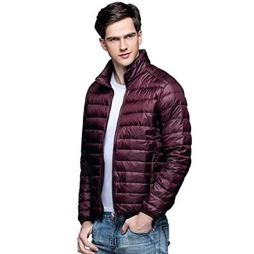 Rm Confortevoli L'inverno Abbigliamento Comprimibile Aceto Color Caldo Trapuntato Autunno Cappotto Misura Piumino Uomo Ultra E Capospalla Facile 7qwInTxzA
