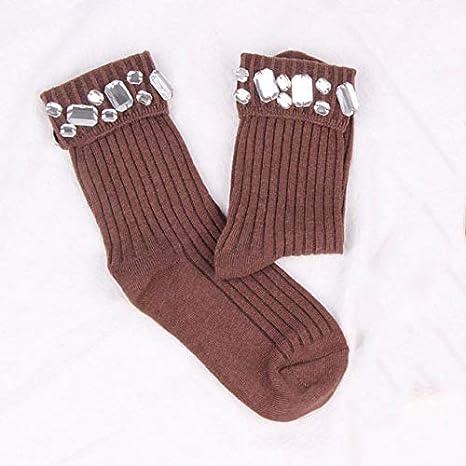 WAESRD Calcetín de algodón para Mujer Calcetines Hechos a Mano ...
