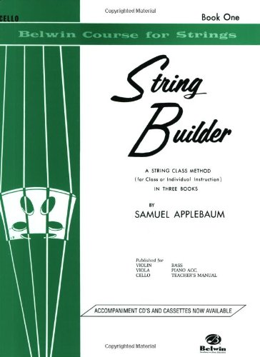 String Builder, Bk 1: Cello (Belwin Course For Strings)