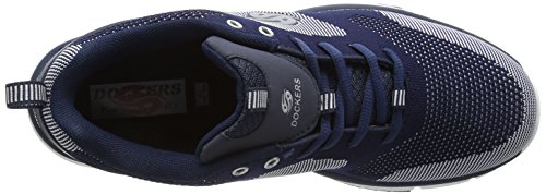 Dockers by Gerli 37eq008-700 - Zapatillas Hombre Azul - Blau (navy/weiss 665)